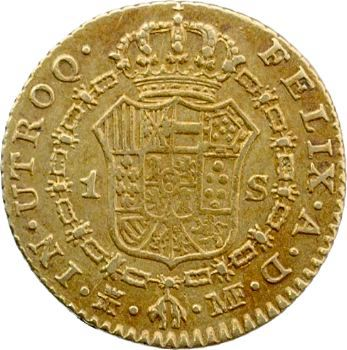 Espagne, Charles IV, 1 escudo, 1794 Madrid