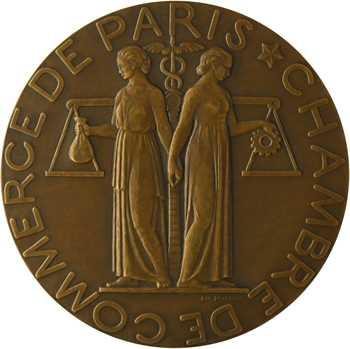 Poisson (P.-M.) : la Chambre de Commerce de Paris, s.d. Paris