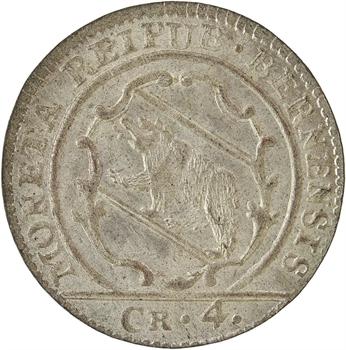 Suisse, Berne (canton de), 4 kreuzer (1 batzen), 1784 Berne