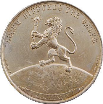 Louis-Philippe Ier, Sociétés d'éclairage par le gaz, Abbeville, 1844 Paris