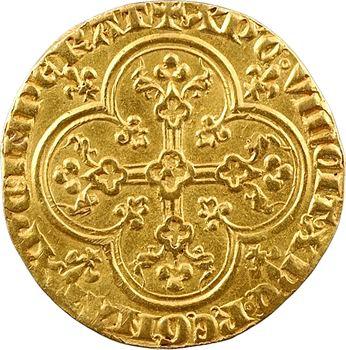 Philippe V, agnel d'or (croisette)