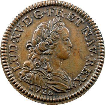 IIIe République, essai-piéfort du quinzain d'or de Louis XV, s.d. Paris