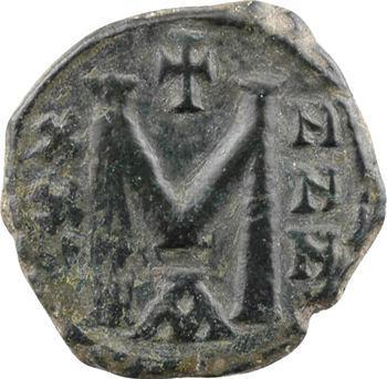 Nicéphore Ier et Stauracius, follis, Constantinople, s.d. (802-811)