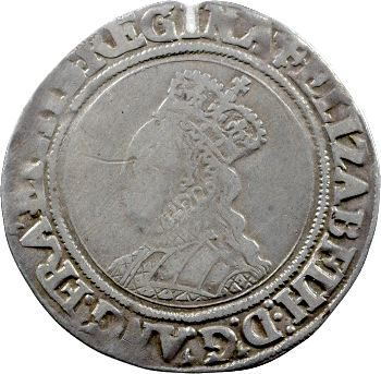 Angleterre, Elisabeth Ire, shilling, s.d. Londres