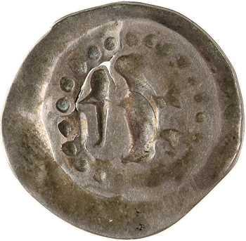 Alsace, Strasbourg (Ville de), pfennig uniface à l'ange, s.d. (1296-1334)
