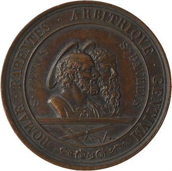 Vatican, Pie IX, 18e centenaire des martyrs Pierre et Paul, 1867 Rome