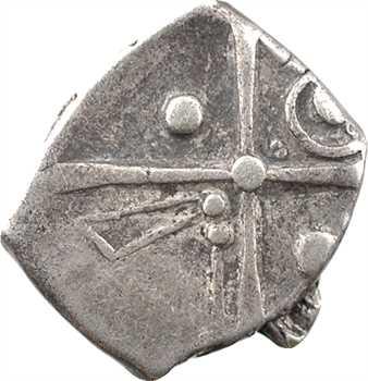 Cadurques, drachme à la tête triangulaire, c.IIe-Ier s. av. J.-C.