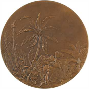 Colonies françaises, médaille Gallia Tutrix par Lucien Coudray, s.d. Paris