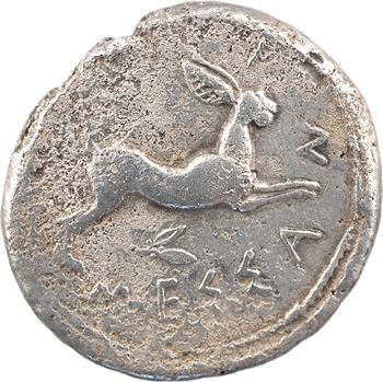 Sicile, Messine, tétradrachme, c.445-439 av. J.-C.