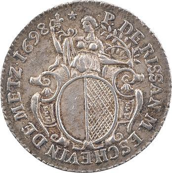 Lorraine, Metz (ville de), P. de Rissan, échevin, 1698