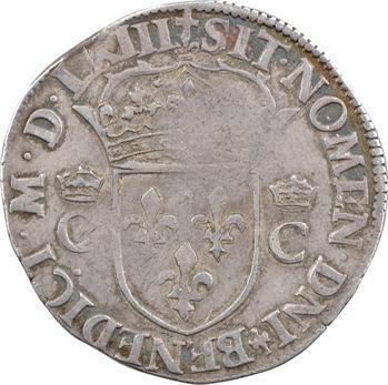 Charles IX, teston 2e type, 1563 Paris