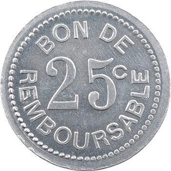 Comores, Société anonyme de la Grande Comore, 25 centimes, s.d. (1915)