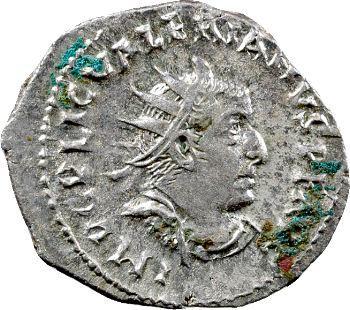 Valérien Ier, antoninien, Rome, 256-257