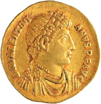 Valentinien Ier, solidus, Antioche, 10e officine, 364-367