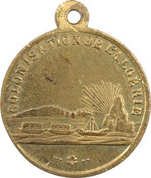 Algérie, colonisation de l'Algérie, 1848 Paris
