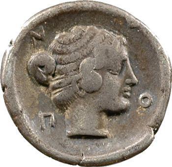 Macédoine, Neapolis, hémidrachme, c.424-350 av. J.-C.