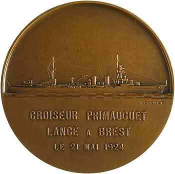 Cochet (R.) : le croiseur Primauguet, 1924 Paris