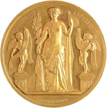 Second Empire, récompense de la Maison de l'Empereur à Paul Baudry, 1857 Paris