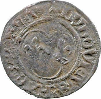 Louis XII, denier tournois, Rouen