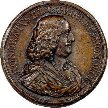 Monaco, Honoré II, médaille, 1645