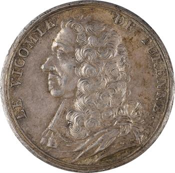 Henri de La Tour d'Auvergne, Vicomte de Turenne, par J. Dassier, 1675