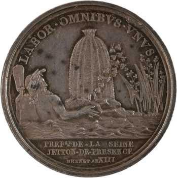 Premier Empire, Préfecture de la Seine, An XIII (1805) Paris