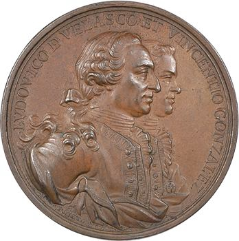 Cuba, la Havane, la prise du fort El Morro et la mort de Don Luis de Velasco et de Vincenzo Gonzales, par Prietro, 1763