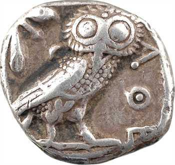 Attique, tétradrachme, Athènes, c.480-400 av. J.-C.