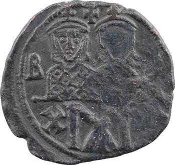 Léon IV et Constantin VI, follis, Constantinople, s.d. (775-780) Constantinople
