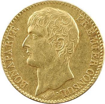 Consulat, 40 francs, An 12 Paris
