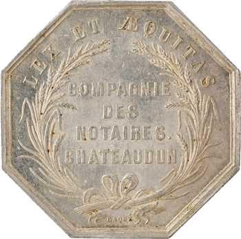 Second Empire, Compagnie des notaires de Chateaudun, s.d. Paris