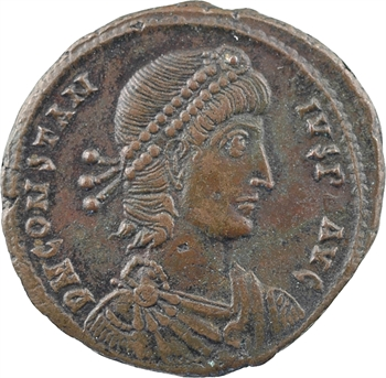 Constance II, maiorina, Alexandrie, 4e officine, 351-355