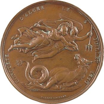 Algérie, conquête d'Alger, le comte de Bourmont, général, 1830 Paris