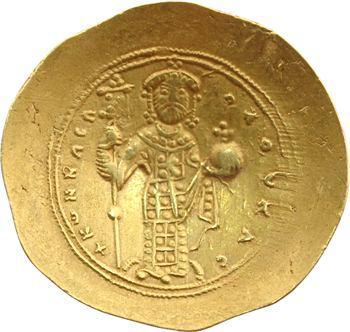 Constantin X, histamenon scyphate, Constantinople, 1059-1067