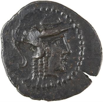 Aulerques Cénomans (ou Carnutes), denier à la tête de Pallas à droite, c.80-50 av. J.-C