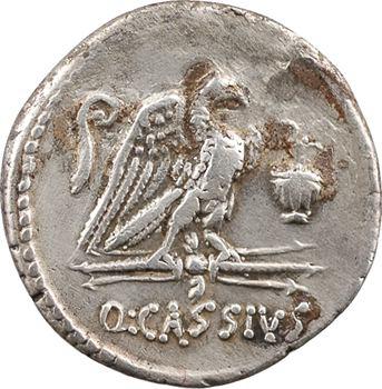 Cassia, denier, Rome, 55 av. J.-C.