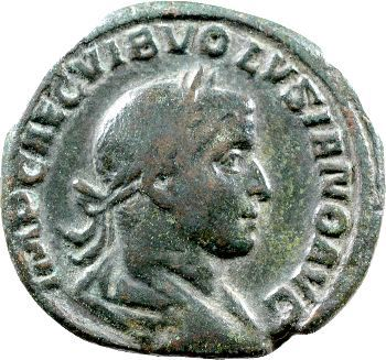 Volusien, sesterce, Rome, 251-252