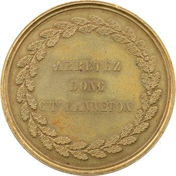 IIe République, médaille satirique, Arrêtez donc c't'hanneton, s.d. (c.1850)