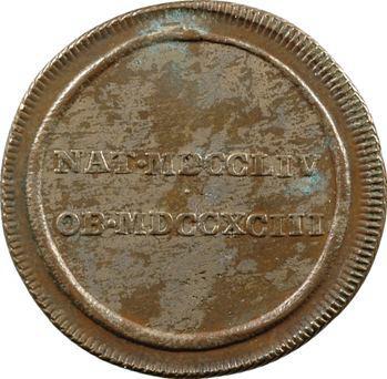 Louis XVI, jeton à l'ouroboros, s.d