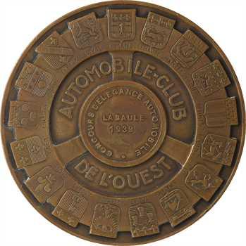Automobile, Automobile Club de l'Ouest, concours d'élégance de La Baule, par Delannoy, 1939 Paris