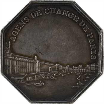 Consulat, Agents de change de Paris, An 9 (1801) Paris
