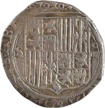 Espagne, Ferdinand et Isabelle, 2 réaux, s.d. (c.1530) Séville