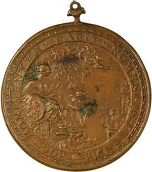 L'Aubépine (Charles de), son décès, par Josias Belle, 1653, fonte ancienne
