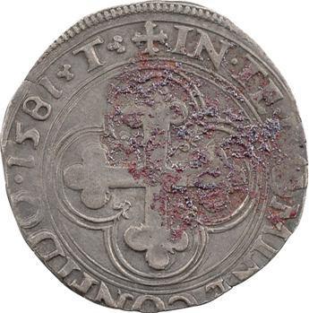 Savoie (duché de), Charles-Emmanuel Ier, blanc ou 4 soldi, 1581 Turin