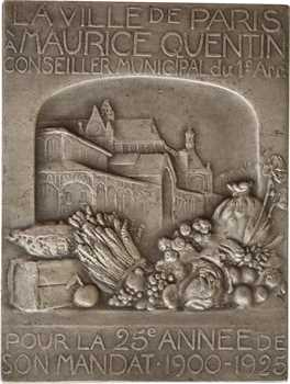 Nocq (H.) : 25e année du mandat de Maurice Quentin, 1900-1925 Paris