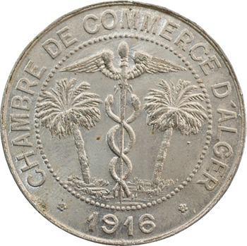 Algérie, Chambre de Commerce d'Alger, 10 centimes, 1916 Paris