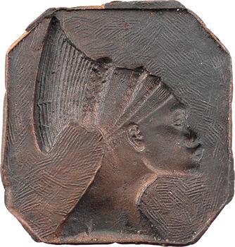 Exposition coloniale de Paris 1931, femme africaine, cliché par Rocchi, 1931 Paris