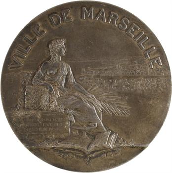 Martin (Gustave) : ville de Marseille, en argent, s.d. Paris