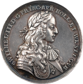 Pays Bas, hommage à Guillaume III d'Orange-Nassau, 1675
