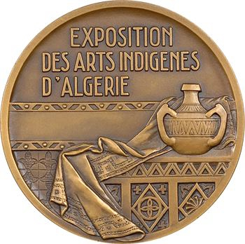 Algérie, Exposition des arts indigènes, par Camille Alaphilippe, 1938